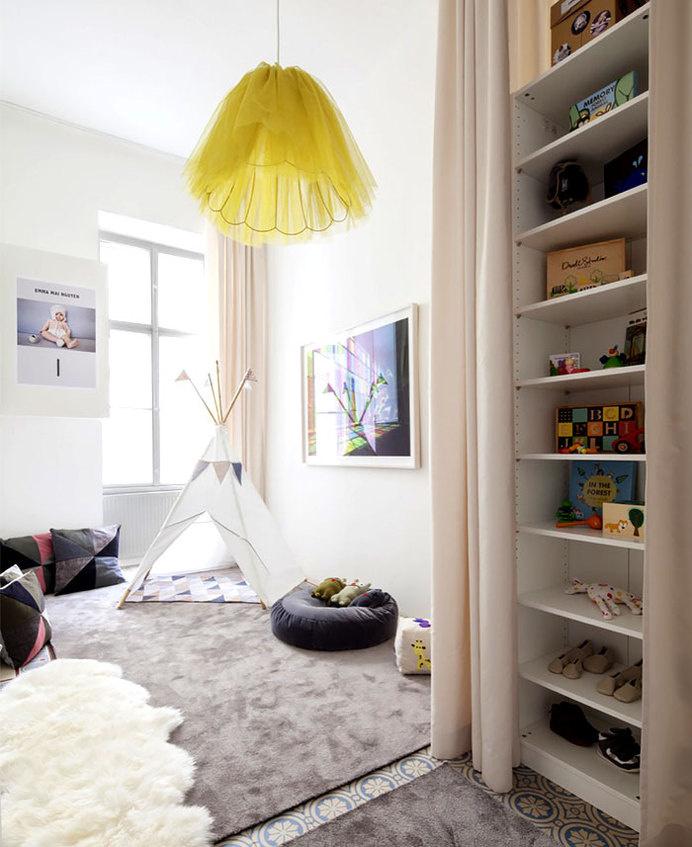 Beautiful Restored H + M Apartment by Studio Destilat beautiful restored apartment kid bedroom #interior #design #decor #kids #room