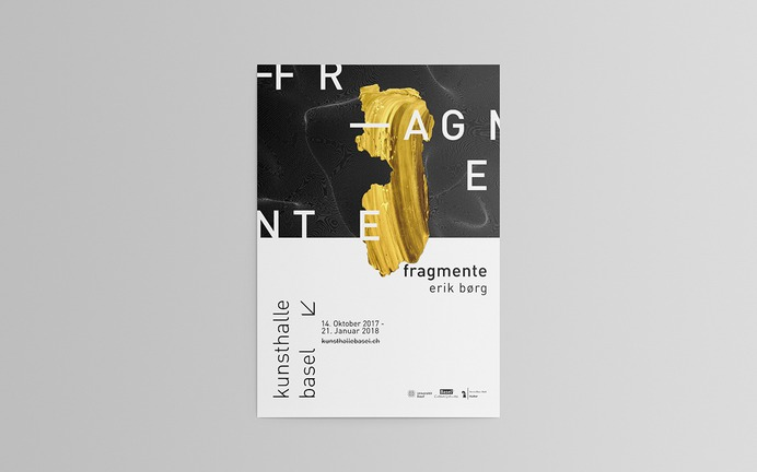 poster campaign for Kunsthalle Basel // on Behance