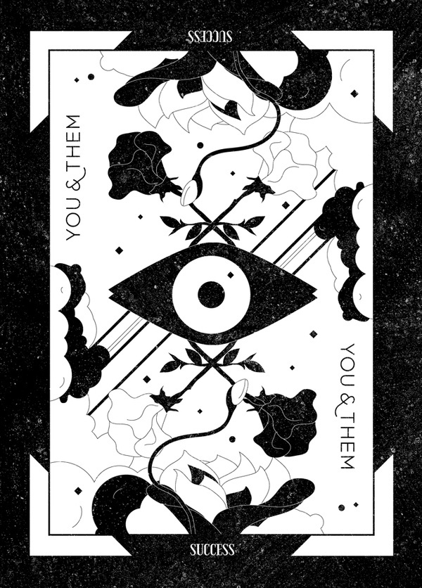 You & Them Tarot Card