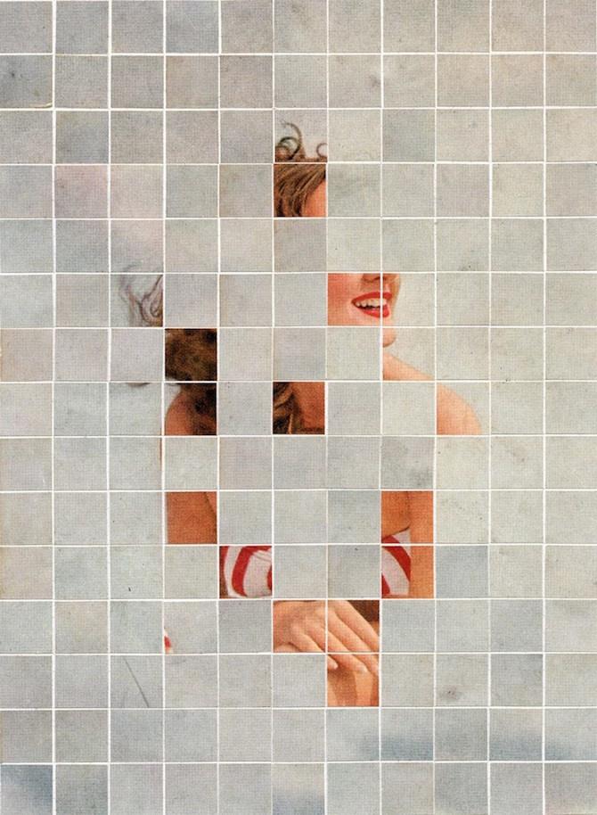 Anthony Gerace #art #portrait #squares #vintage #woman #art #portrait #squares #vintage #woman