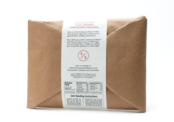 Stockman & Dakota Beef Rebrand on Behance #packaging #meat