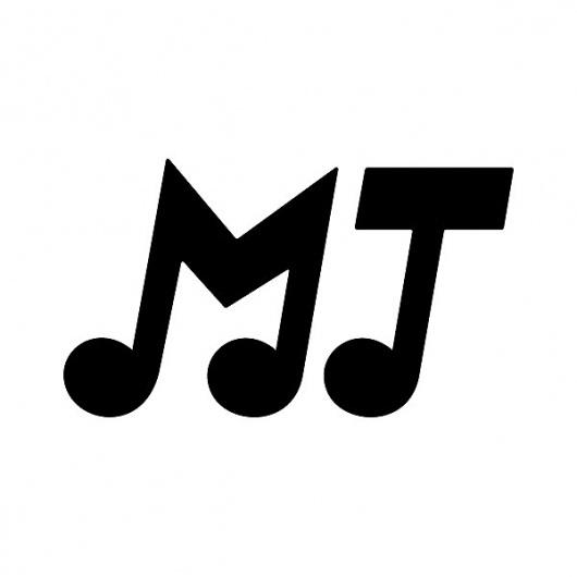 Merdan Taplak - Benny Arts #initials #taplak #black #benny #arts #music #logo #merdan