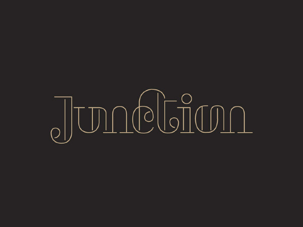 Junction #fashion #typedesign #identity