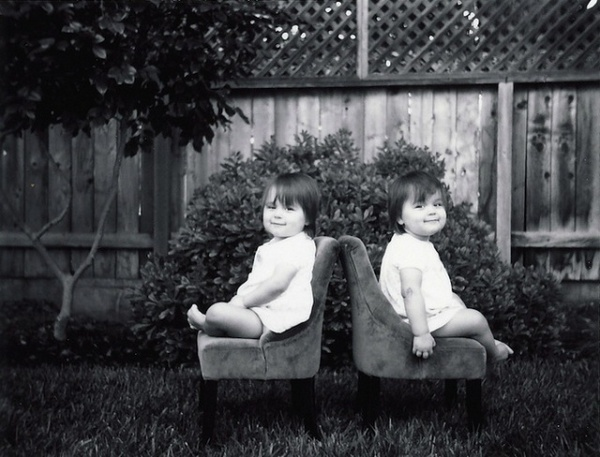 Twin Daughters by Geoff Black #inspiration #photography #portrait