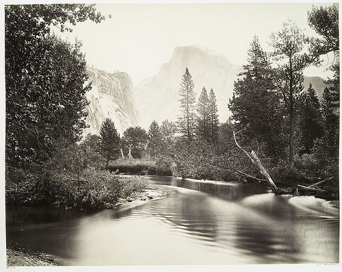 The Half Dome, Yosemite. | Flickr - Photo Sharing! #yosemite #mountains #valley #river #california