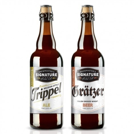 Choc Brewmaster's Signature #packaging #beer #label #bottle