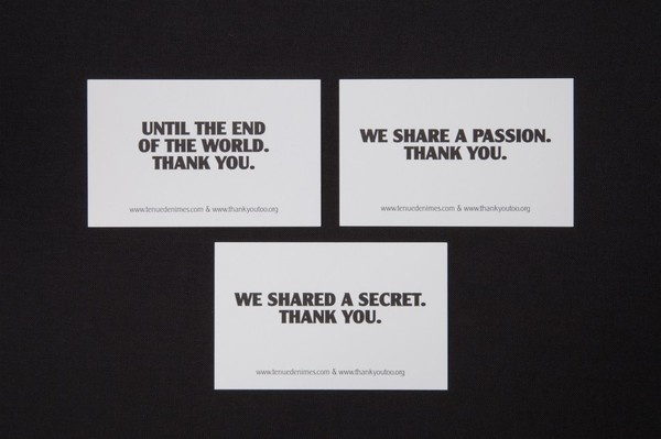 Thank You Too | Another Something #print