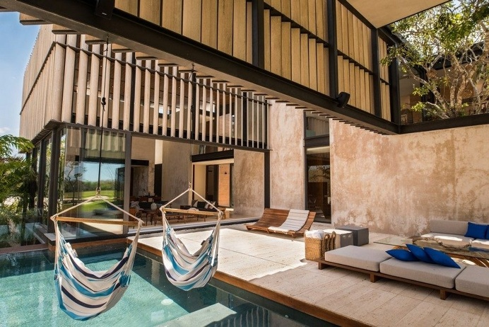 Modern Mexican House Evoking the Specificity of the Yucatan Peninsula 13