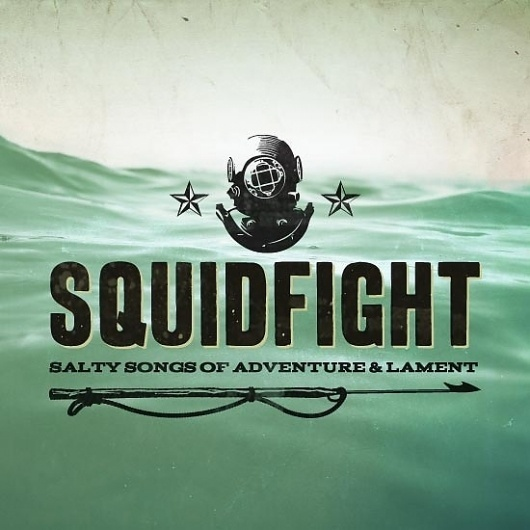 SquidFight - Designers.MX #ocean #water #mix #typography