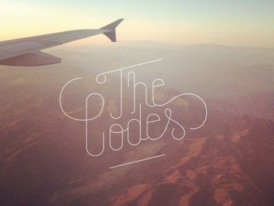 Dribbble - The Codes by Greg Christman #type #design #fotography
