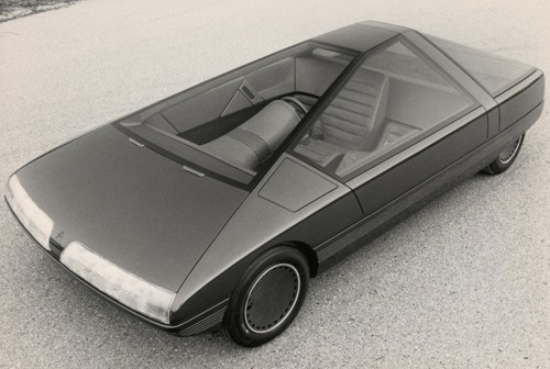 Citroën Karin Concept model for the 1980 Paris... #car