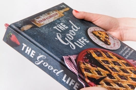 The Good Life Cookbook - Projects - A Friend Of Mine #cookbook #food #typography