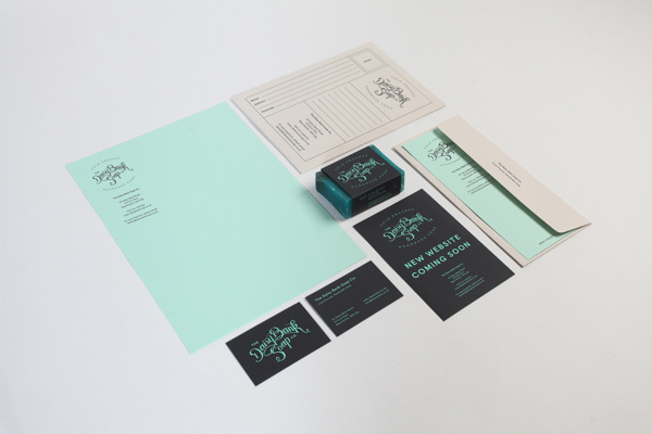 Daisy Bank Soap Co. #branding #packaging #soap #identity #stationery #passport #logo