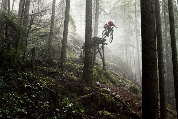 Ryan Berrecloth North Vancouver, B.C. #freeride #bicycle #photo #bike #forest