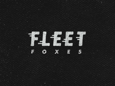Dribbble - Fleet Foxes by Jimmy Walker