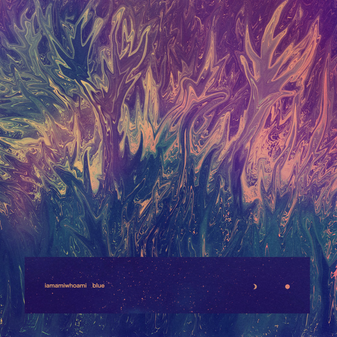 iamwhoami - blue artwork by Quentin Deronzier #artwork #albumart #albumcover #cover