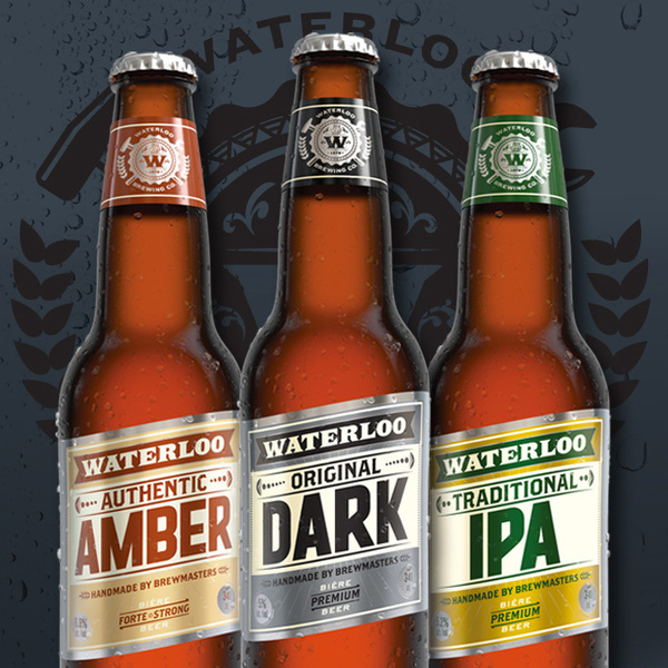 lovely package waterloo brewing co 2 #packaging #beer #bottle