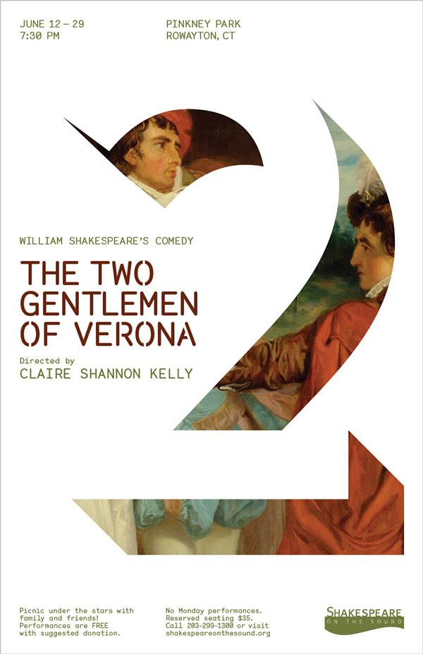 The Two Gentlemen of Verona by McLane Teitel