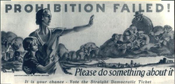 Marijuana vs. Alcohol Prohibition Weedist #sign #beer #vintage #prohibition