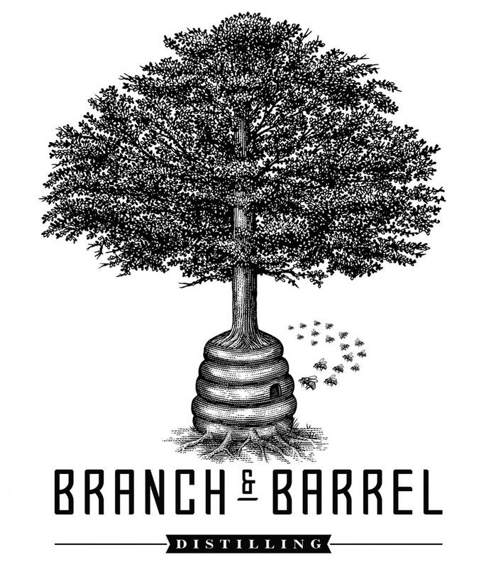 Branch & Barrel Labels rendered by Steven Noble