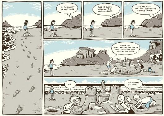 BLUE - a comic by Pat Grant #comic