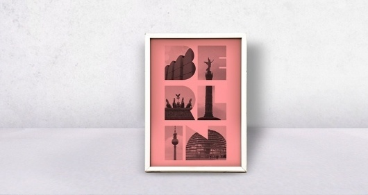 Berlin Poster #design #graphic