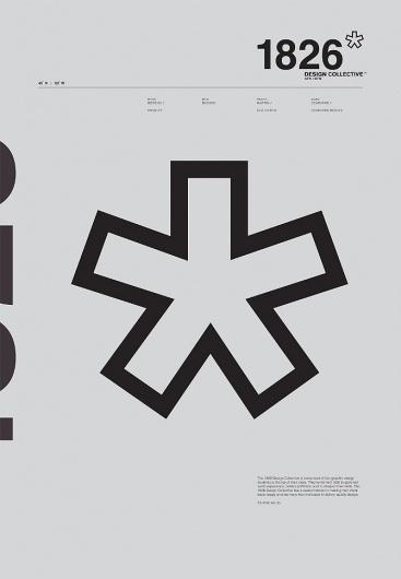DUE NORTH / Travis Martin #north #swiss #1826 #design #due #grid #monochromatic