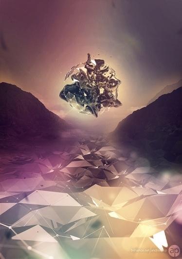 Fluid+Crystal - Poster on Digital Art Served #crystal #fluid #poster