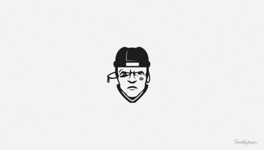 Round One : Brendan Prince #logo #hockey