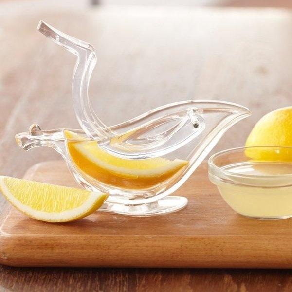 Bird Shaped Lemon Slice Squeezer #gadget