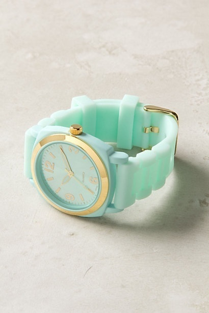 Pinned Image #mint #gold #watch