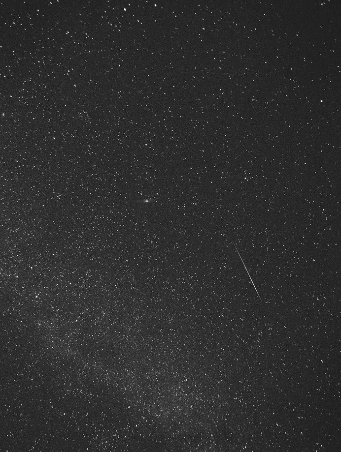 The Dust #limited #sweden #edition #shooting #print #meteor #geminid #gothenburg #star