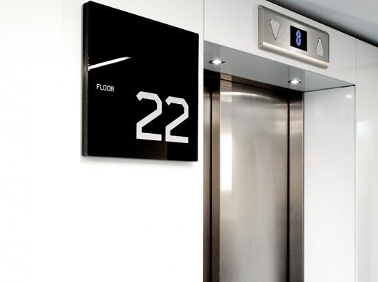 Identity | Stockholm Designlab #interior #numbers #signage #type #typography