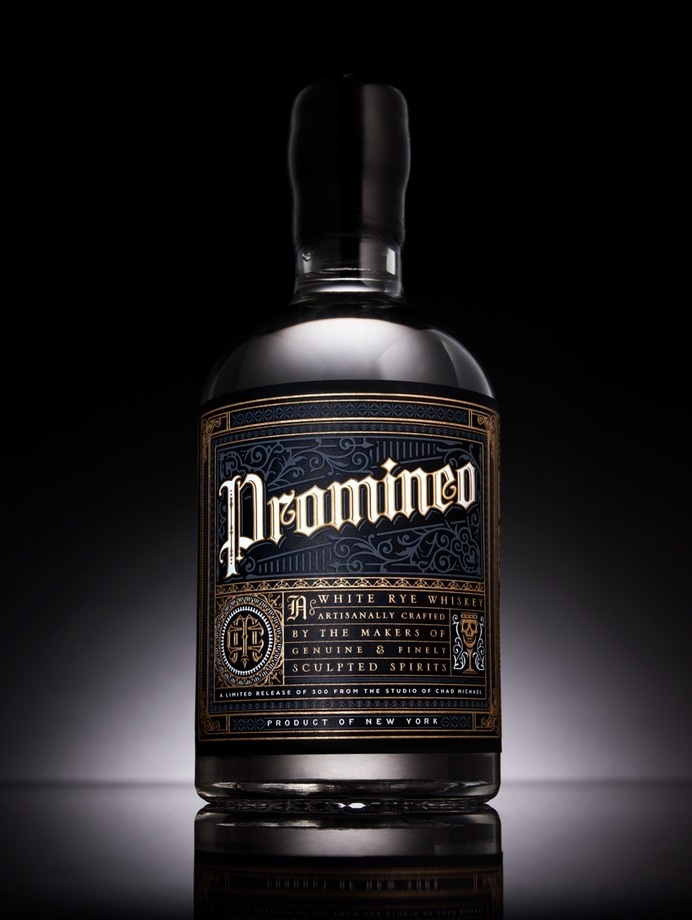 Promineo Whiskey — The Dieline #spirits #packaging