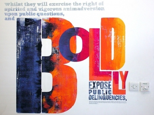 Boldly Expose Public Delinquencies – Alan Kitching – Illustrators & Artists Agents – Début Art #inky #alan #kitching