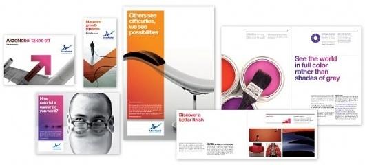 AkzoNobel | Portfolio | Pentagram #print #identity #branding