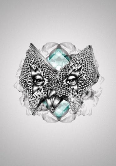 Marie Antoinette #graphism #design #illustration #mask #drawing