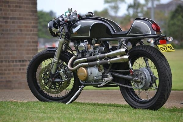 Hi From Australia CB350 page 23 Cafe Racers DO THE TON #cafe #cb350 #honda