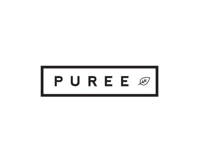 Puree branding & packaging by Studio Ahamed #white #black #clean #vegetable #logo