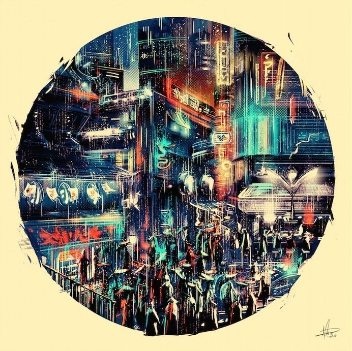 Chinatown #chinatown #illustration