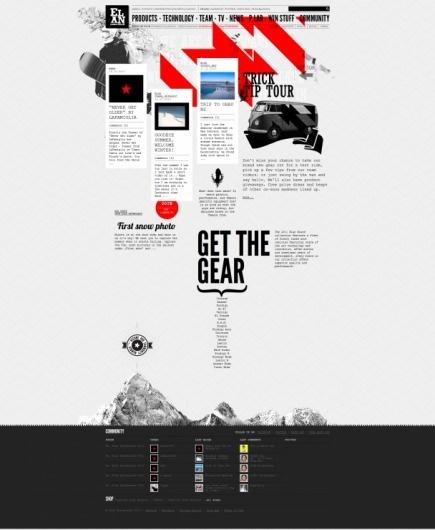 Elan Snowboards 10 | vbg.si - creative design studio #webdesign