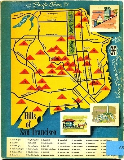 notions & potions #francisco #san #vintage #map