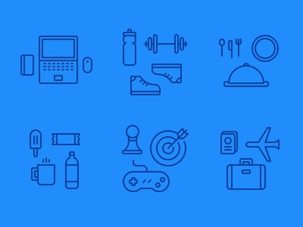Perks Illustrations #icon #picto #symbol #sign