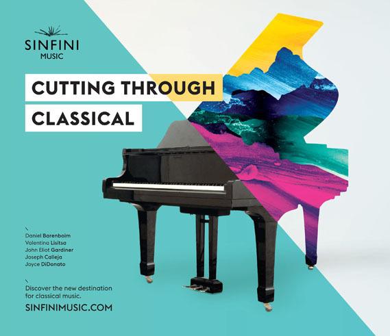 Creative Review Cutting through classical #piano #through #classical #colours #split #cutting #painting #music