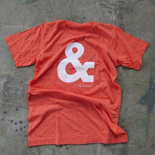Studio & shirt #silkscreen #& #shirt #ampersand #studio #type