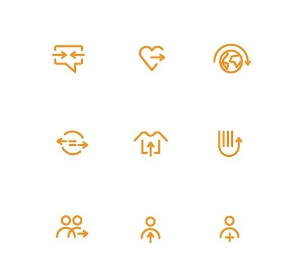 vectors&icons on Behance #line #pictogram #icon #sign #picto #symbol