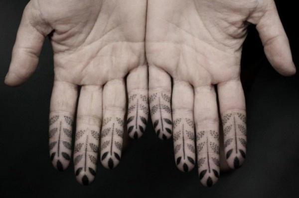 Kenji Alucky Stippling Tattoos 1 #dots #tattoo #modern