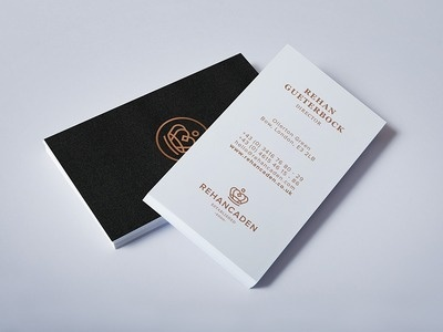 Rehancaden Logo Design / Business Card #cards #business