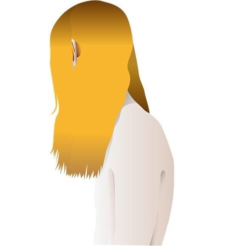 illustration: hair #illustration