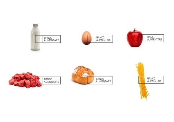 Banco Alimentare by Roberta Farese #identity